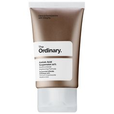 Shop The Ordinary's Azelaic Acid Suspension at Sephora. A multifunctional brightening formula. The Ordinary Products, The Ordinary Skincare, The Ordinary For Rosacea, The Ordinary Azelaic Acid, Sephora, Best Face Serum, Uneven Skin Tone, Dull Skin, Best Face Products