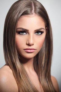 Hair color:
