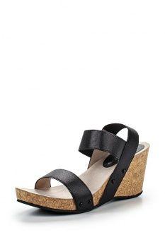 Босоножки Tamaris, цвет  черный. Артикул  TA171AWDTK93. Женская обувь    Босоножки 4f58698e239