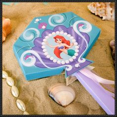 Disney: The Little Mermaid - Princess Ariel's Wand Free Papercraft Download - http://www.papercraftsquare.com/disney-little-mermaid-princess-ariels-wand-free-papercraft-download.html