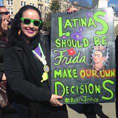 Latinas Caught on Camera Organizing for Social Justice