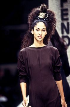 Kimora Lee Simmons @ Fendi Spring/Summer 1994