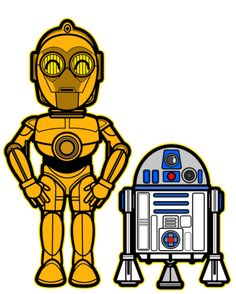 R-2D2 and C-3PO Star Wars