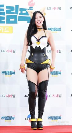 Berry Good members Gowon, Seoyul and Johyun attended the Gamedolympic event in June 2019 and member Johyun cosplayed as Ahri, a character of League of Legends. Other idols and groups attended too, including Heechul and Sexy Asian Girls, Beautiful Asian Girls, Berry Good, Korean Women, Japanese Girl, League Of Legends, Berries, Wonder Woman, Cosplay
