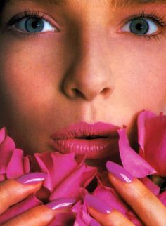 Avon, American Vogue, March 1985.