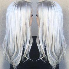 Icy blonde