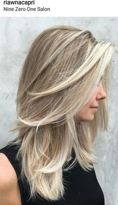 Love this layered look. If you want a natural new medium layered hair cuts from summer to fall, why not try these medium layered hair cuts hair styles or colors? There are a ton of options for you to choose. Check out!