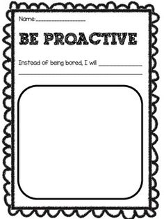 I use these worksheets to put in our Leadership binders! We read each habit story individually and fill out the worksheet when we are done. The kids love it! This pack includes a worksheet for each of the 7 habits with writing prompts for each one! Of course there is also a box for illustrations of how they will use that specific habit.