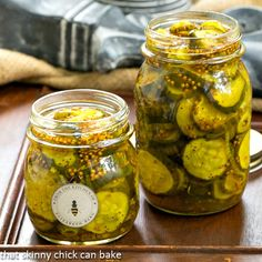 These easy refrigerator Bread and Butter pickles taste exactly like the ones my mom used to can. Except, these are no muss, no fuss!!!