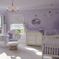Whimsical Lavender Nursery
