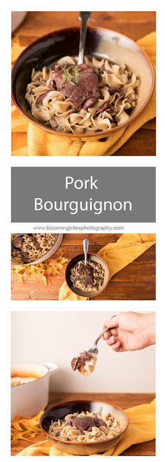 Pork Bourguignon - M