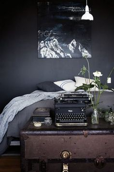 Paint Color Portfolio: Black Bedrooms