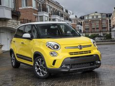 2014 Fiat 500L tries to prove bigger is better. #cars #Fiat