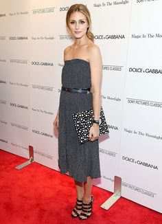 When you're short, you can totally make like Olivia Palermo.