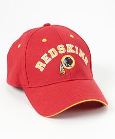 Take a look at this Garnet Washington Redskins Baseball Cap - Adult by NFL on #zulily today!