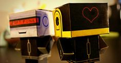 Papertoys Daft Punk by Hadi (x 2)