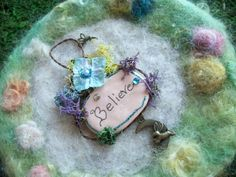 I Believe Fairy Sign Fairy Wall Plaque Wall by FairiesWelcome