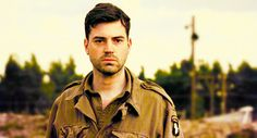 Ron Livingston as Cpt. Lewis Nixon in 'Band Of Brothers', Band Of Brothers, Brothers Movie, Lewis Nixon, Ron Livingston, Movie List, Film Stills, Good Movies, Tv Series, Hot Guys