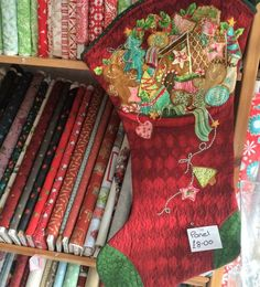 Christmas fabrics, sewing patterns and panels are now in stock at Juberry!