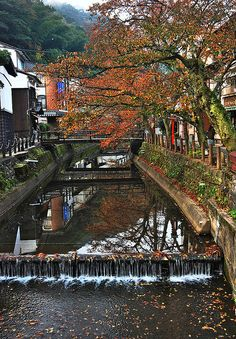 The Colors of Autumn at Kinosaki – Japan by williamcho, via Flickr
