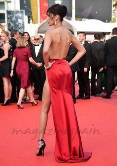 Bella Hadid, embajadora de la linea de maquillajes de Dior
