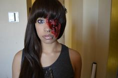 Gore makeup! Not done by me but worn by me :)