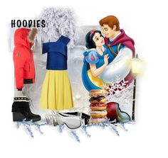"""""""snow white"""" by wendy-737 on Polyvore featuring Arctic North, Disney, Chanel and Topshop"""