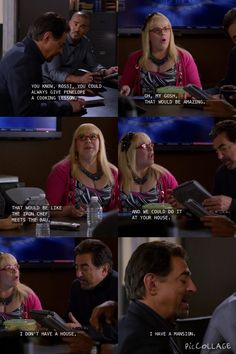 sassy rossi is sassy | Criminal Minds Funny Penelope Garcia David Rossi Derek Morgan