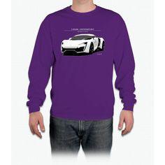 Lykan Hypersport - Fast. Furious. Dwayne Johnson Long Sleeve T-Shirt