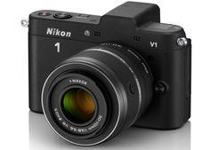 nikon 1 mirrorless compact SLR camera series