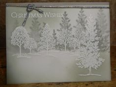 Lovely As A Tree on Vellum by jo1171 - Cards and Paper Crafts at Splitcoaststampers
