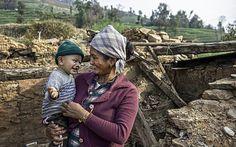 Το ενός έτους αγοράκι που έζησε και γλίτωσε από δύο φονικούς σεισμούς