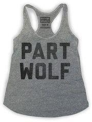 Part Wolf. New Tank