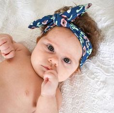 If these eyes dont just melt your heart, then nothing will! This little darling is looking extra cute in our smallest sized knot headbands… Knot Headband, Headbands, Little Darlings, Your Heart, Baby Shower Gifts, Knots, Lime, Outfit Ideas, Eyes
