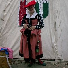 16th Century German Dress - Morgan Donner's Sewing Party