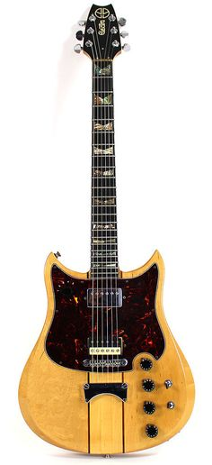 """Electra X740 MPC """"Outlaw"""" with interchangeable onboard guitar effects --- https://www.pinterest.com/lardyfatboy/"""