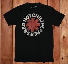 Red Hot Chili Peppers Graphic Tee Shirt Men's Size Medium #RedHotChiliPeppers #Music #GraphicTeeShirt