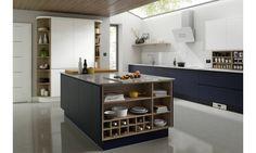 Handleless Baltic Matt Kitchen