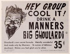 Ghoulardi hawks soda pop-1963 click to enlarge