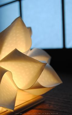 Floor light designed by gennai, Japan