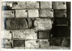 Letters from a shipwreck - recovered and delivered