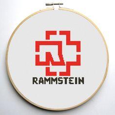 (10) Name: 'Embroidery : Rammstein Cross Stitch Pattern