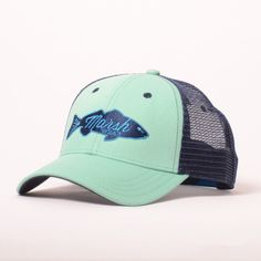 This is the go to lid for a day on the water or around town. A medium crown height and fully adjustable snap closure back, you won't leave home without it. Traditional Fit Cotton Twill with Mesh Back Snap Closure