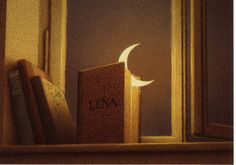 LUNA copyright Quint Buchholz, artist. The painting, The book, The reality, The beauty...
