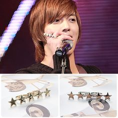 [CNBLUE Style] Star Line Ring(Yong-hwa) $6 on kstargoods.com