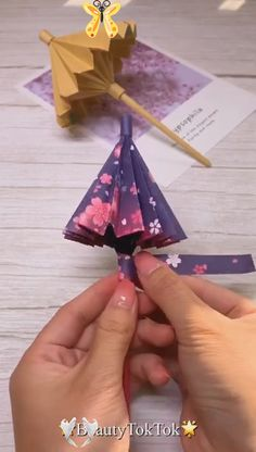 13 DIY-Origami Ideas – Fun Paper Crafts  <br> Origami Diy, Paper Crafts Origami, Origami Ideas, Crochet Crafts, Crochet Projects, Crochet Faces, Crafts For Kids, Diy Crafts, Crafts With Pictures