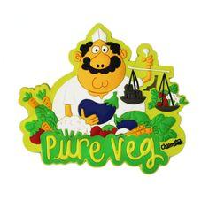 Pure Veg Magnet-1