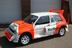 1986 MG Metro 6R4 Group B World Rally Car