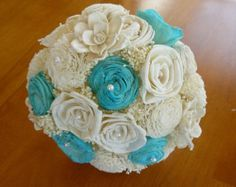 yellow tiffany blue green and orange wedding - Google Search