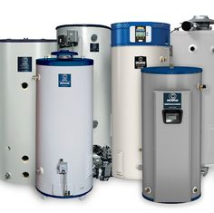 Products: Water Heaters, Water Softeners, Tankless Water Heaters